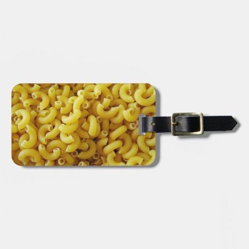 Macaronie n Cheese Luggage Tag