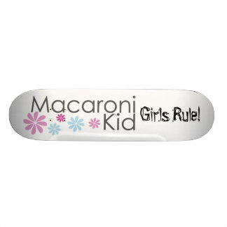 Macaronikid Girls Rule Skate Board Decks