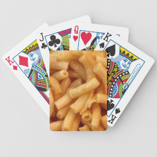 Macaroni's and cheese bicycle playing cards