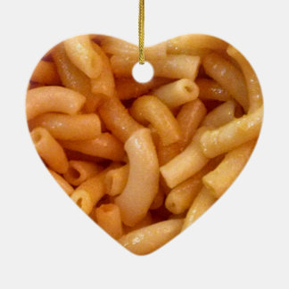 Macaroni's and cheese christmas ornament