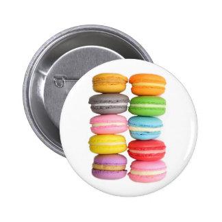 Macarons 6 Cm Round Badge