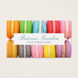 Macarons Business Card