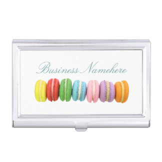 Macarons Business Card Holder