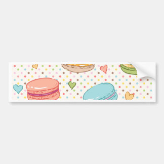Macarons,cookies,french pastries,food hipster,then bumper sticker