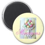 Macarons fridge magnet