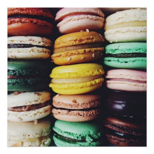 Macarons, New Orleans Poster