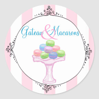 Macarons Stickers