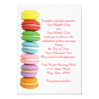 Macarons Wedding Invitations