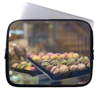 Macaroons in Show Window 2 Laptop Sleeve