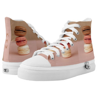 Macaroons / Macarons custom monogram shoes