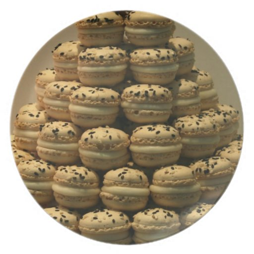 Macaroons Party Plates