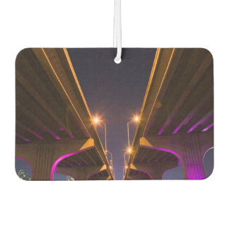 MacArthur Causeway seen from underneath at dusk Car Air Freshener