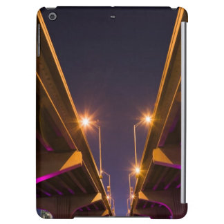 MacArthur Causeway seen from underneath at dusk Case For iPad Air