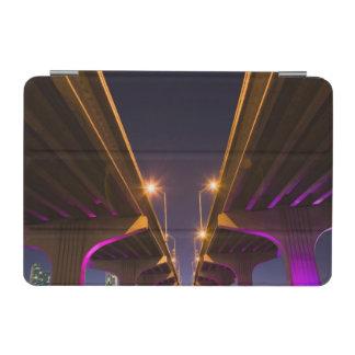 MacArthur Causeway seen from underneath at dusk iPad Mini Cover