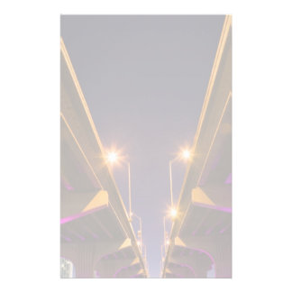 MacArthur Causeway seen from underneath at dusk Stationery