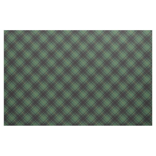 Macarthur clan Plaid Scottish tartan Fabric