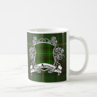 MacArthur Tartan Shield Coffee Mug