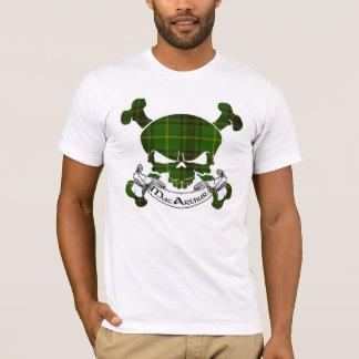 MacArthur Tartan Skull T-Shirt