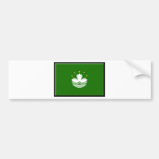 Macau (China) Flag Bumper Sticker