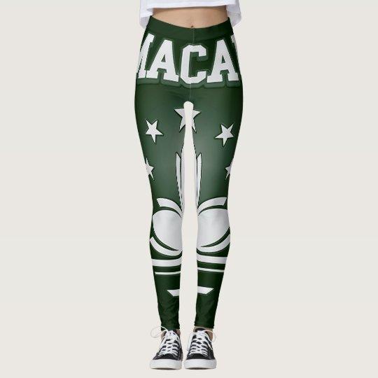 Macau  Coat of Arms Leggings