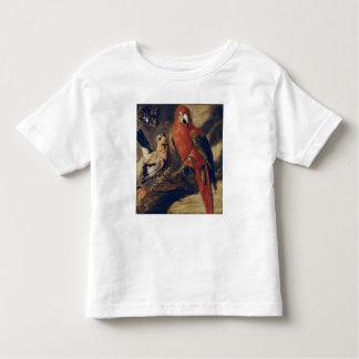 Macaw and Bullfinch Toddler T-Shirt