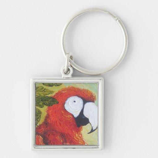 Macaw I Keychain