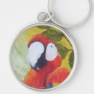 Macaw II Key Chain