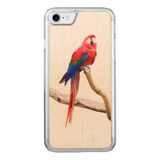 Macaw iPhone 6 Carved iPhone 7 Case