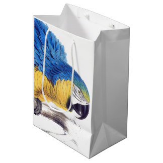 Macaw Parrot Bird Wildlife Animals Gift Bag