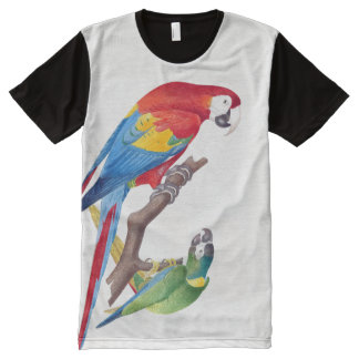 Macaw Parrot Birds Animals Wildlife T-Shirt