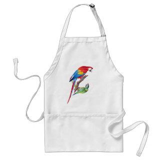Macaw Parrot Birds Wildlife Animals Apron