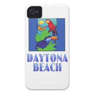 Macaw, Parrot, Butterfly & Jungle DAYTONA BEACH iPhone 4 Covers
