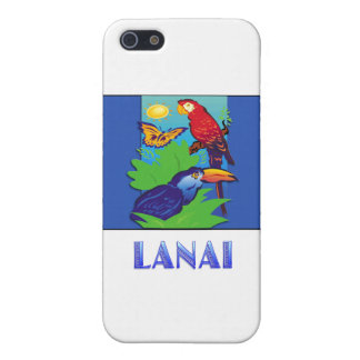 Macaw, Parrot, Butterfly & Jungle LANAI Covers For iPhone 5