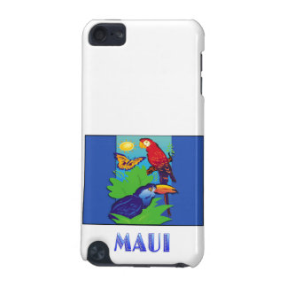 Macaw Parrot Butterfly Jungle MAUI iPod Touch (5th Generation) Cover