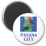 Macaw, Parrot, Butterfly & Jungle PANAMA CITY Magnet
