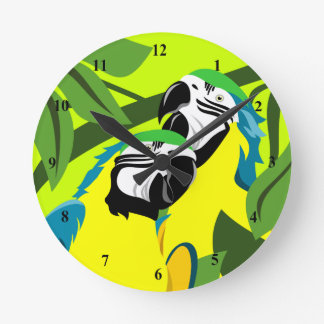 Macaw Parrot Clocks