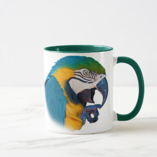 Macaw Parrot, Customizable Mug