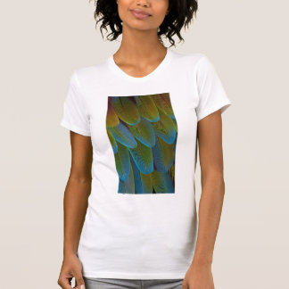 Macaw parrot feather pattern detail T-Shirt