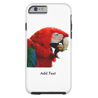 Macaw Parrot iPhone 6/6s, Tough Phone Case