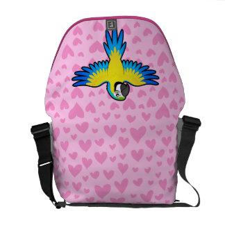 Macaw / Parrot Love Commuter Bag