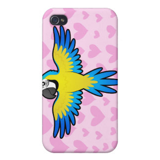 Macaw / Parrot Love iPhone 4/4S Covers