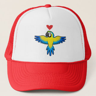 Macaw / Parrot Love Trucker Hat