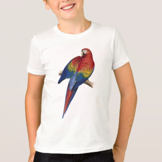 Macaw Parrot Red Yellow Blue Green Bird T-Shirt