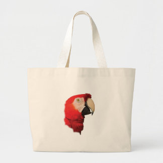 Macaw Portrait Large Tote Bag