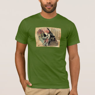 Macaw Preening T-Shirt