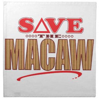 Macaw Save Napkin