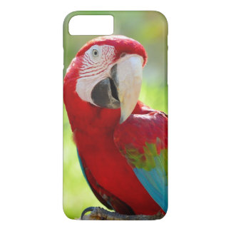 Macaw sitting on branch iPhone 8 plus/7 plus case