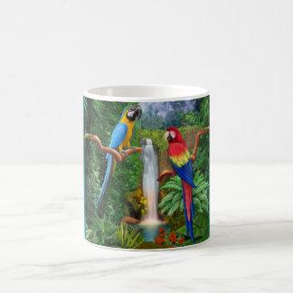 Macaw Tropical Parrots Coffee Mug