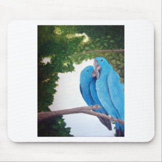Macaws in Love Mousepads