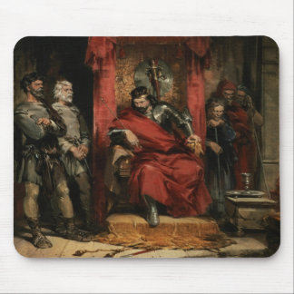Macbeth instructing the Murderers Mouse Mat